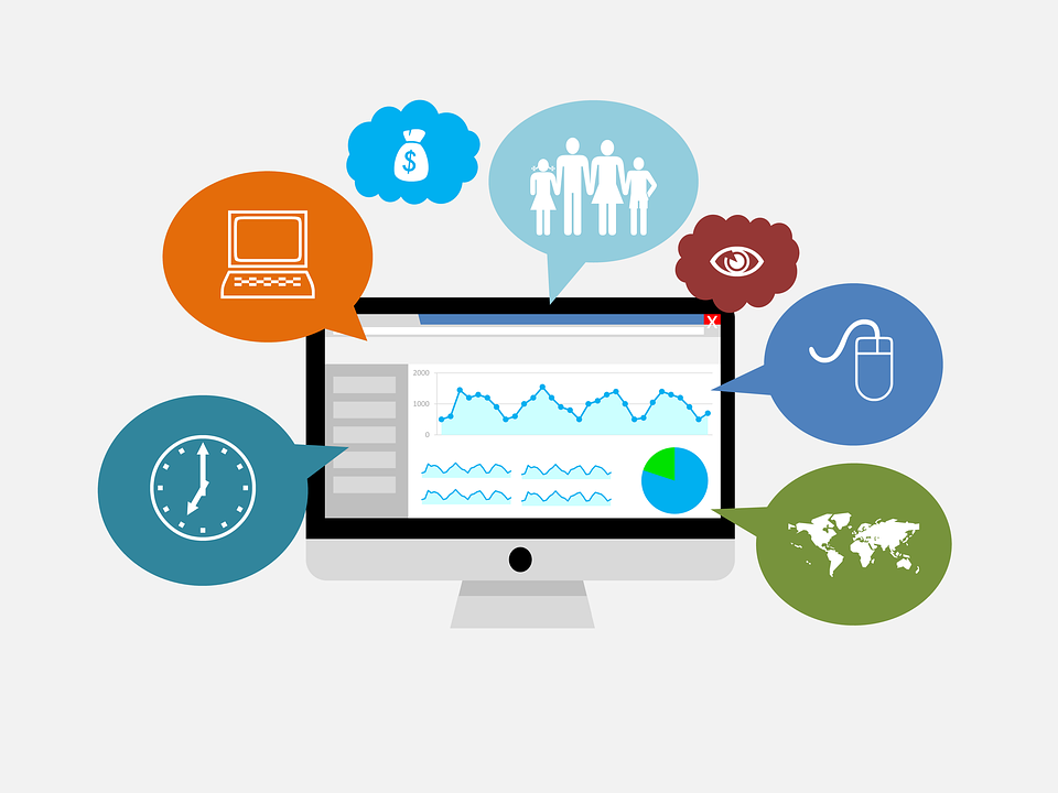QlikView data simplified into integrated and visually stimulating graphics